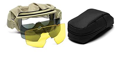 Smith Optics Elite Outside the Wire Goggle Deluxe Kit, Gray/Tan