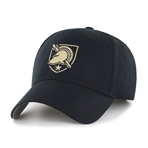 OTS NCAA Army Black Knights All-Star MVP Adjustable Hat, Black, One (College Football Fan Gear)