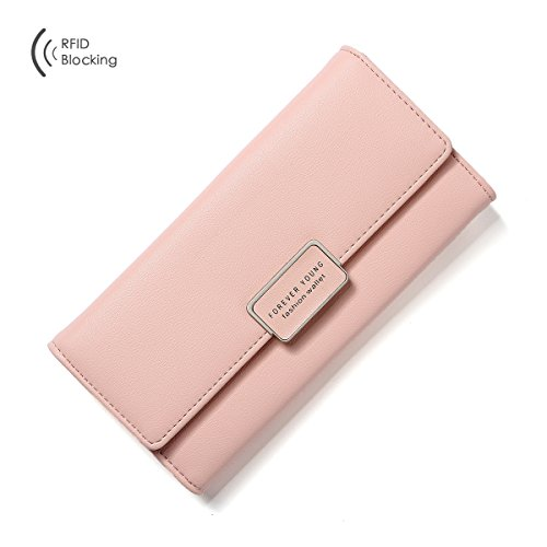 Aoliner-Women-RFID-Blocking-Multi-Card-Organizer-Wallet-for-women-Purse