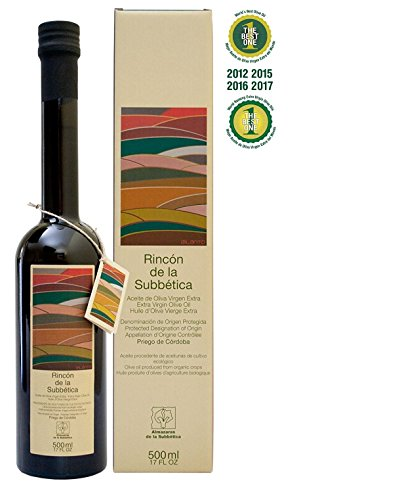 3 x Rincón de la Subbética Alamoda - Extra Virgin Olive Oil 500 ml Bottle