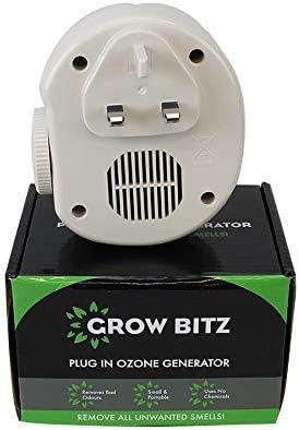 Hydroponics Plug-in Electric Ozone Generator odour Neutraliser Smell Sterilizer