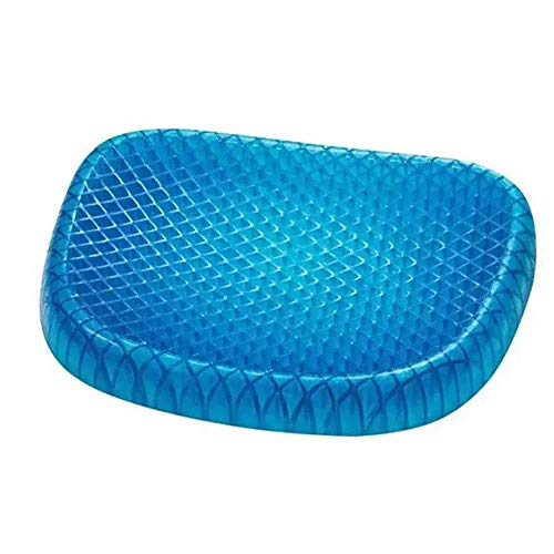 YQJ Gel Cushion Egg seat Cushion with Non-Slip Cover, Cool Summer Breathable Honeycomb Design Absorption Pressure Point pad high Elastic Cushion Office Cushion 2PCS by YQJ (Image #4)