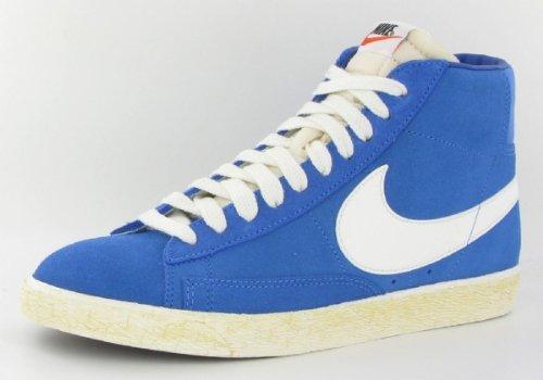 Nike Trainers Shoes Mens Blazer Hi Suede Blue