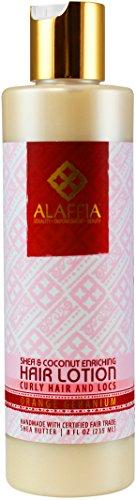 Alaffia - Virgin Coconut & Shea Butter Enriching Hair Lotion - 8 oz (FFP)