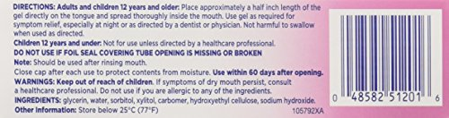 Biotene OralBalance Moisturizing Gel Flavor-Free, Alcohol-Free, for Dry Mouth, 1.5 ounce (Pack of 3) by Biotène (Image #1)
