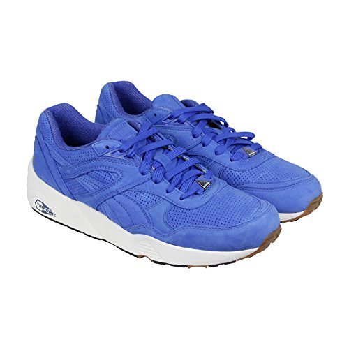 (PUMA R698 Perf Pack Mens in Strong Blue/Whisper White by, 9.5)