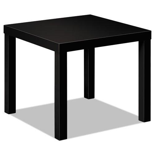 HON Laminate Occasional Table, 24w x 24d x 20h, Black - BMC-BSX BLH3170P