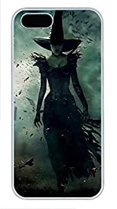 iPhone 5 5S Case Wicked Witch PC Custom iPhone 5 5S Case Cover White