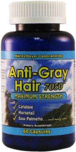 Anti-gris Cheveux 60 Capsules - Qualité supérieure!