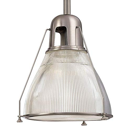 Hudson Valley Lighting 7308-SN One Light Pendant from The Haverhill Collection, 8