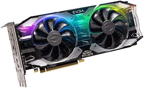 EVGA GeForce RTX 2070 XC ULTRA GAMING, 8GB GDDR6, Dual HDB Fans & RGB LED  Graphics Card 08G-P4-2173-KR