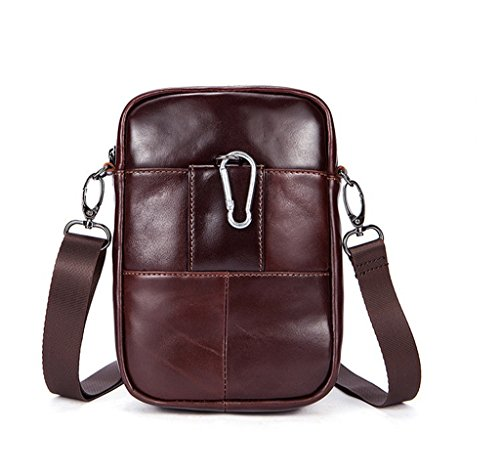 Shoulder Messenger Capacity Leather Men's Briefcases Large 1 Bags Vintage Design Sucastle Ux14qnw7q