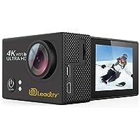 LeadTry TP2 HD Action Camera Full 4K Wi-Fi Sports Camera,...