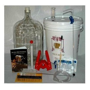 (Home Brew Ohio RL-WKZ2-0IJS Gold Complete Beer Equipment Kit (K7) with 5 gal Glass Carboy)