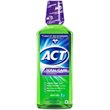 ACT Total Care Rinse Mouthwash, Fresh Mint, 18 Ounce