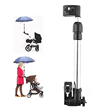 Amazon.com: Golf Umbrella Holder Baby Trolley Umbrella Stand For Wheelchair Bike Buggy Cart Baby Pram: Baby
