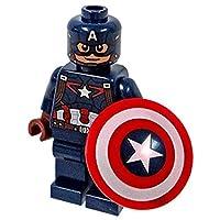 LEGO Super Heroes Marvel Minifigure - Capitán América (versión de Age of Ultron)