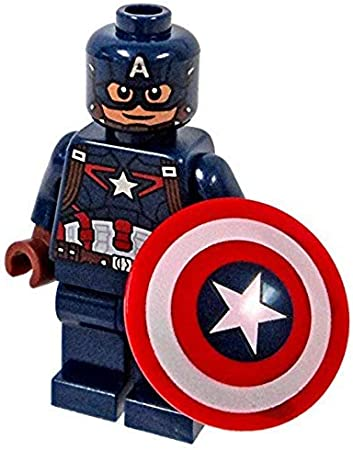 Lego type mini figurine serie marvel captain america avengers
