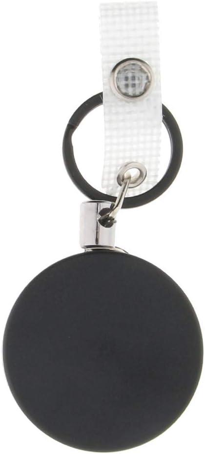 Soporte para Llaves Anillo de Retroceso de Acero Accesorio Deportivo Multiusos para Llaves Seguridad A 4cm