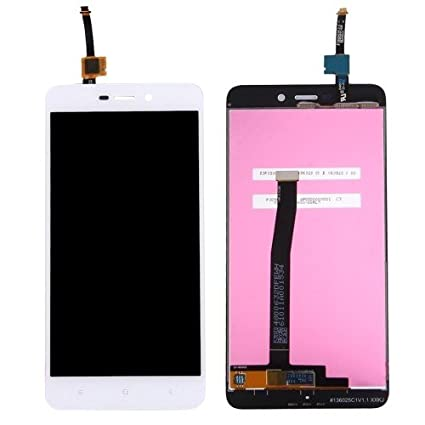 RPATEL IPS LCD DISPLAY WITH TOUCH SCREEN DIGIJIZER GLASS COMBO Compatible  for Redmi 4A,COLOUR WHITE