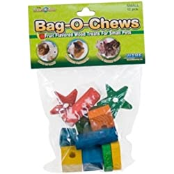 Ware Manufacturing Pine Wood Bag-O-Chews Small Pet Treat, Small - Pack of 12