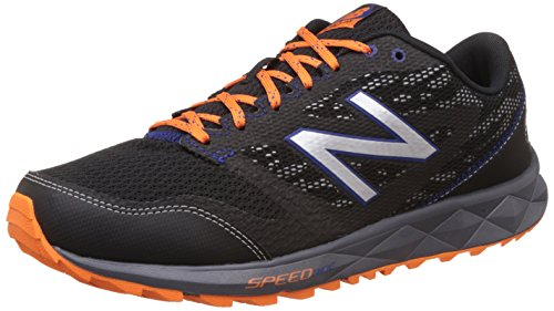 Nieuw Evenwicht Heren 590v2 Snelheid Rijden Trail Hardloopschoen Zwart / Oranje