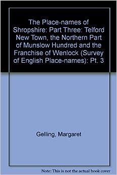 Como Descargar Torrents The Place-names Of Shropshire: Part 3: Pt. 3 Leer Formato Epub