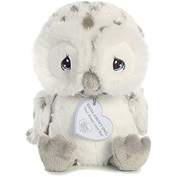 Precious Moments Nigel Snow Owl 8 inch - Baby Stuffed Animal by Aurora World