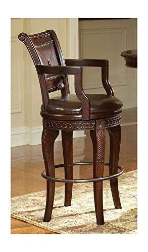 Steve Silver Antoinette Swivel Barstool – Set of 2 For Sale