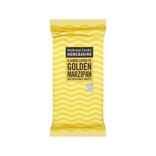 Golden Marzipan Waitrose 500g - Pack of 4 by WAITROSE