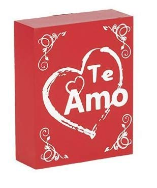 Te Amo Quotes | Amazon Com Te Amo I Love You Gifts For Her Wood Sign Spanish