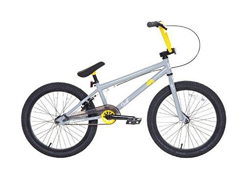 Dave Mirra Boys 8110-02T 20-Inch Sankt/Mirraco Bike, Cool Gray/Yellow/Black by Dave Mirra B00PL9L83I