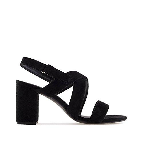 am5246 Machado 32 sandalias Pequeñas Grandes Andres tallas Negro mujer Y Ante En 35 45 42 pwvddq
