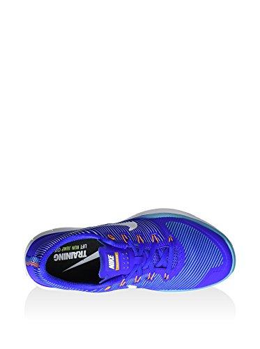Nike Free Train Versatility, Zapatillas de Gimnasia para Hombre Azul (Rcr Blue / White-Gmm Bl-Vvd Orng)