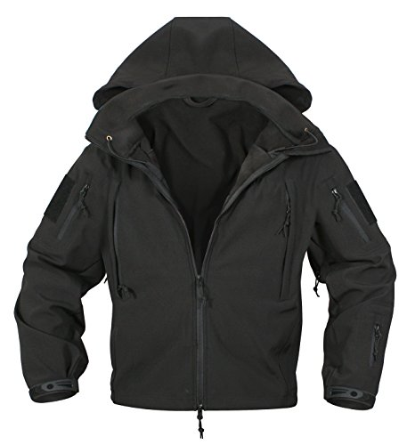Rothco Special Ops Softshell Jacket, Black, XX-Large by Rothco (Image #3)