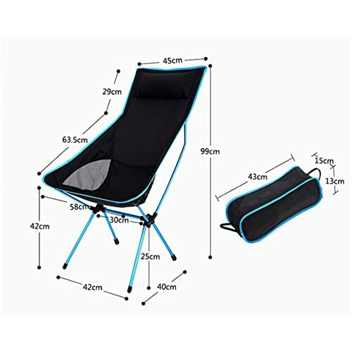 RFVBNM Chaise Pliante En Plein Air Ultra Lger Salon Aluminium Loisirs De Lune