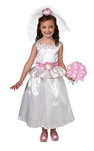 Hello Kitty Bride Dress-Up Outfit ()