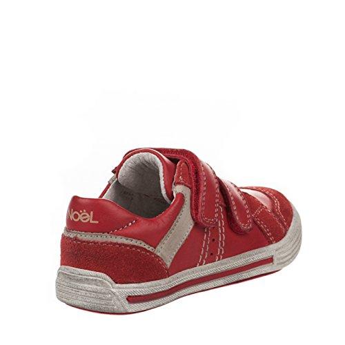 Noel  Roby, Jungen Sneaker rot rot, rot - rot - Größe: 30 EU