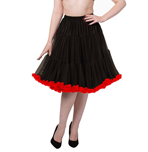 Para Enaguas Days Falda Rose Pink hot Mujer Dancing Black tqzp4