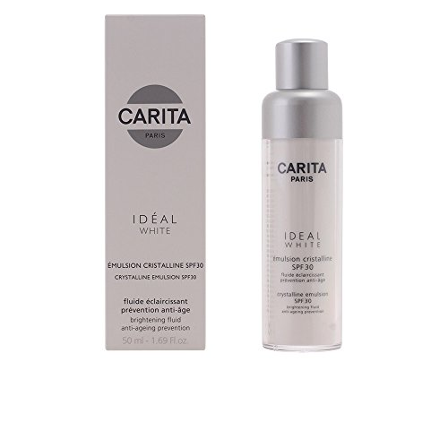 Carita Ideal White Crystalline Emulsion SPF 30, 1.69 Ounce by Carita