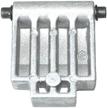 schwarz ATIKA ErsatzteilEinstellschraube für Gartenhäcksler ALF 2600