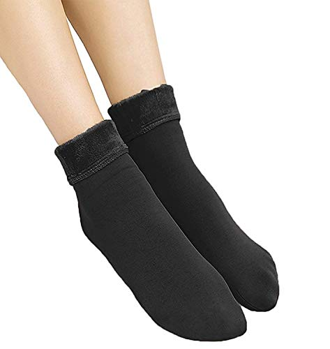 Miss Happy Feet Winter Fur Socks for Beautiful Women.Pretty Thermal Cashmere Boots Socks(Best Buy)