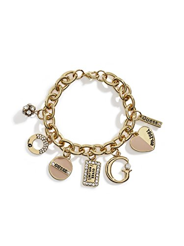 s Gold-Tone Enamel Charm Bracelet ()
