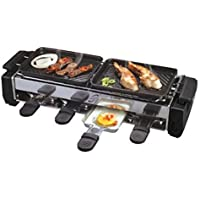 DEALCROX Household Stainless Steel Heating Lengthen Bbq Grill Barbecue Pan Electric Hotplate