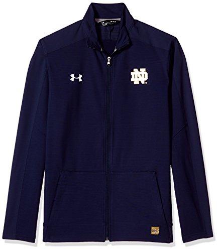Under Armour NCAA Notre Dame Fighting Irish Adult Men NCAA Men's Sideline Warm Up Jacket, Large, Navy