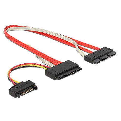 SFF-8639 SATA 3.2 Express 18pin (7+7+4) & 15Pin Power to SFF-8482 SAS Express 29pin Data Raid Cable by HLT (Image #4)