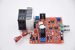WeiKedz 3in1 0-30V 2mA - 3A Adjustable DC Regulated Power Supply DIY Kit + Radiator Aluminum Heatsink+Cooling Fan