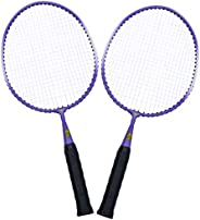 BESPORTBLE 2pcs Kids Badminton Racquet Set Portable Lightweight Badminton Racket Sports Leisure Toys for Child