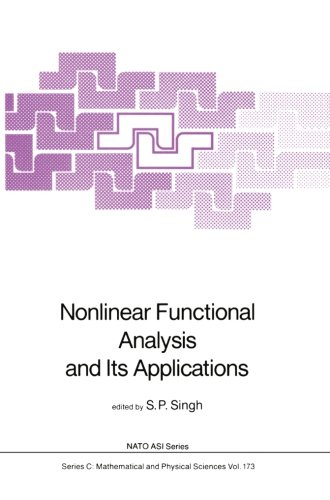 Nonlinear Functional Analysis and Its Applications (Nato Science Series C:)