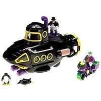 Imaginext Batman Villain Submarine Gift Set, Includes Joker